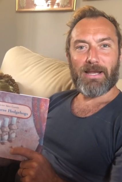 Jude Law reads Three Hedgehogs SAVE THE CHILDREN