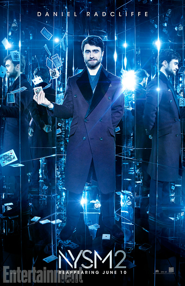 Now You See Me 2 Character Posters Dan Radcliffe The Leaky