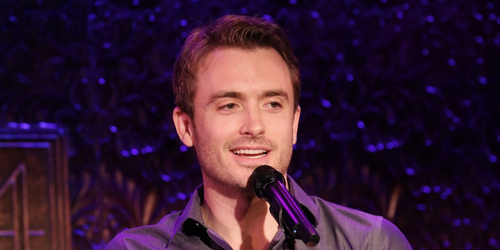 NEW YORK, NY - NOVEMBER 24:  James Snyder previews his upcoming show 'A First New York Holiday Road with Friends' at 54 Below on November 24, 2014 in New York City.  (Photo by Walter McBride/Getty Images)