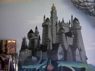 Painted Wall Mural The Leaky Cauldronorg The Leaky Cauldronorg