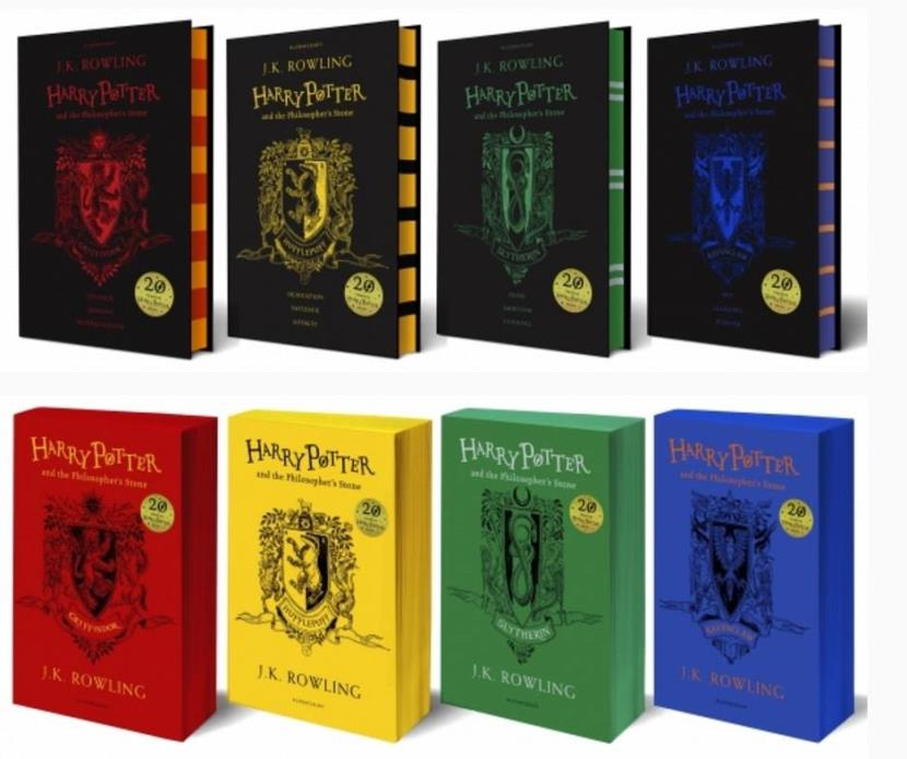 Harry Potter Book Year : J k rowling continues to work her magic in the year