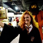 A staff member takes a selfie with a statue of Hagrid during the unveiling of a Harry Potter themed floor at HamleysÕ Regent Street store in central London. PRESS ASSOCIATION Photo. Picture date: Thursday July 19, 2018. See PA story CONSUMER Hamleys. Photo credit should read: Kirsty O'Connor/PA Wire