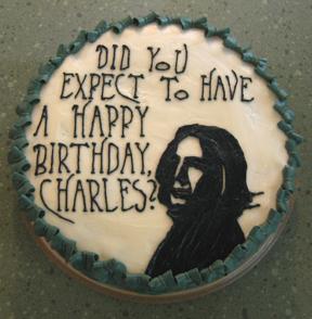 severus snape birthday cake theleakycauldronorg the
