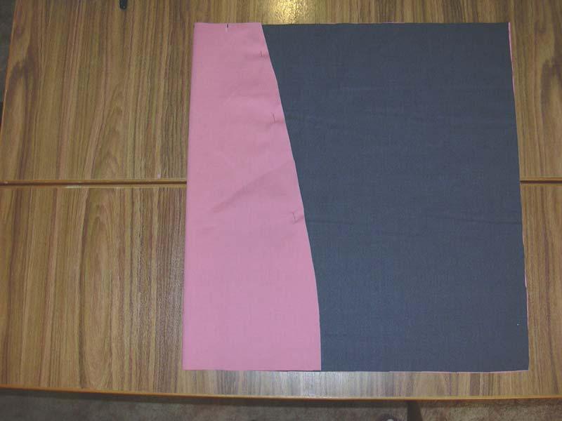 Folding the Piece 1