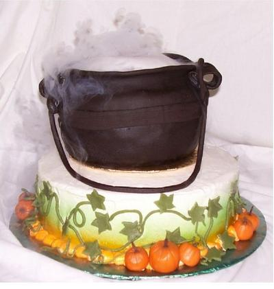 Smoking Cauldron Cake The Leaky Cauldron Org The Leaky
