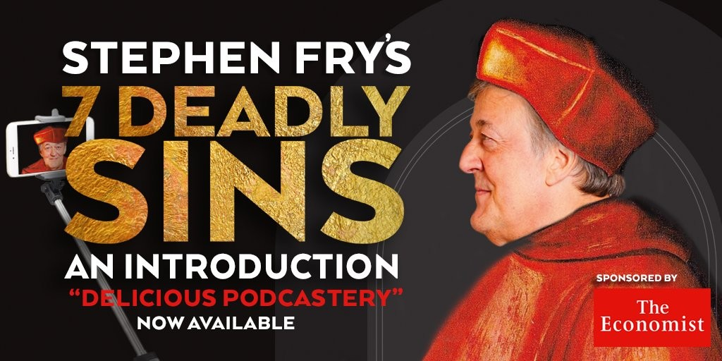 stephen fry deadly sins podcast