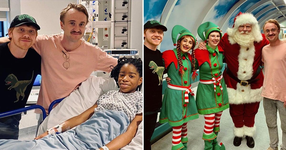 tom felton rupert grint visit hospital christmas