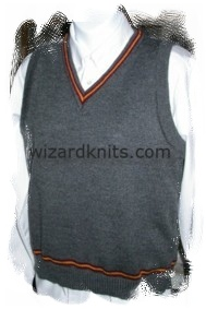 Wizard School V-Neck Vest - Ladies 10