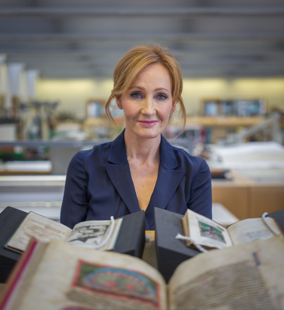 Programme Name: Harry Potter: A History of Magic - TX: n/a - Episode: n/a (No. n/a) - Picture Shows:  JK Rowling - (C) BBC - Photographer: Tom Hayward