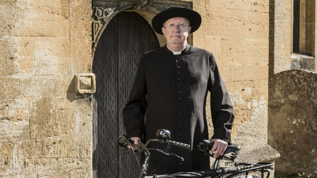 Mark Williams as Father Brown