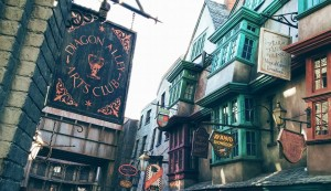 Diagon Alley in Daytime