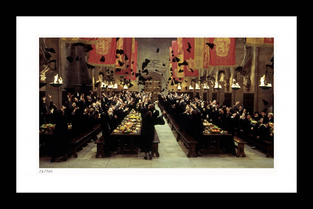 HP113w GRYFFINDOR WINS THE HOUSE CUP