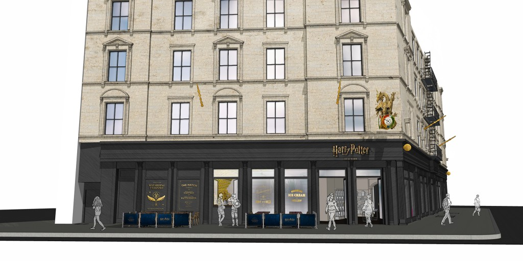 Harry Potter New York Flagship - Concept 2