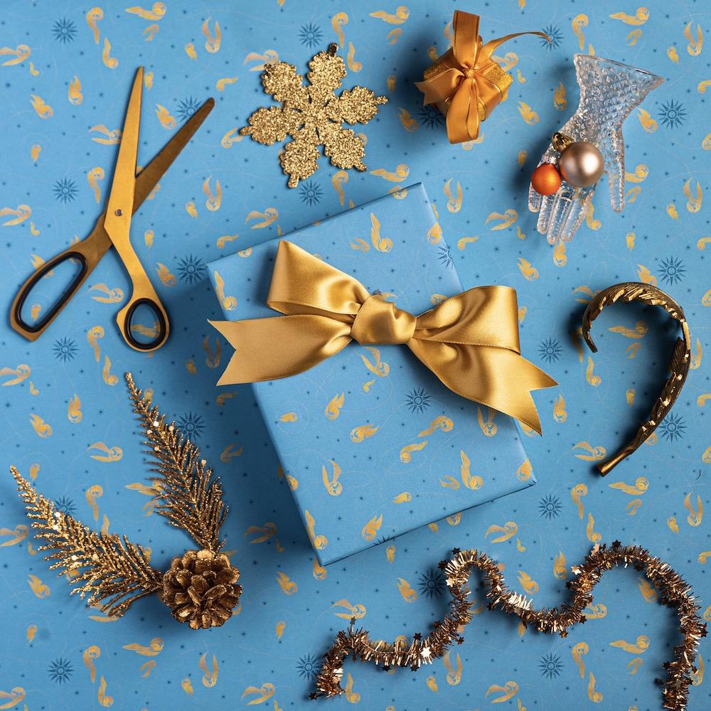 MinaLima_Quidditch Gift Wrap_3