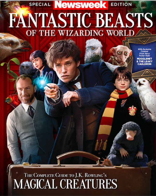 fantastic beasts of the wizarding world: newsweek special edition