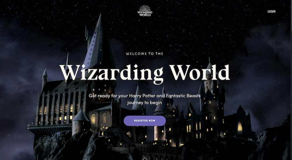 """New website """"Wizarding World"""" is live! - The-Leaky-Cauldron.org ..."""