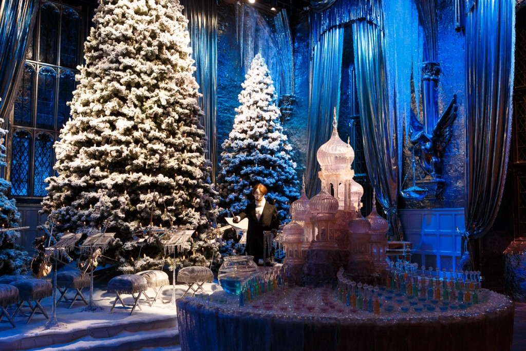 Yule Ball stage in the Great Hall (50)