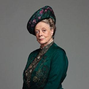 Violet Crawley downton abbey maggie smith