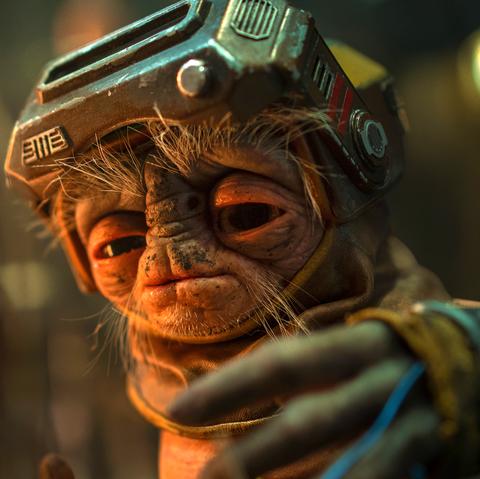 Babu Frik -  The Rise of Skywalker.