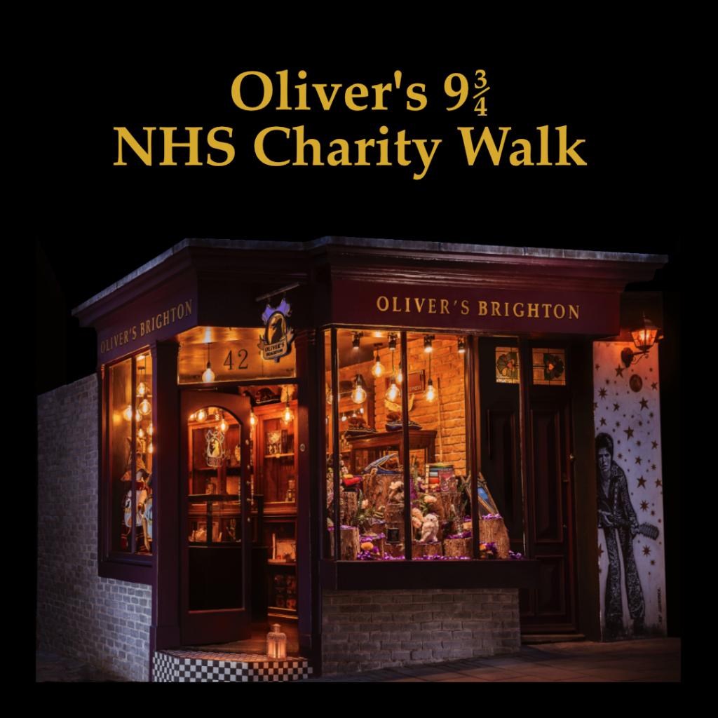 Oliver's in Brighton, where Oliver will walk 9 3/4 miles