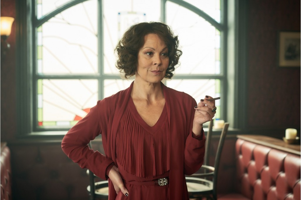 Helen McCrory (Polly Gray) in Peaky Blinders | Series 5 (BBC One) | Episode 02 Photographer: Robert Viglasky © Caryn Mandabach Productions Ltd. 2019