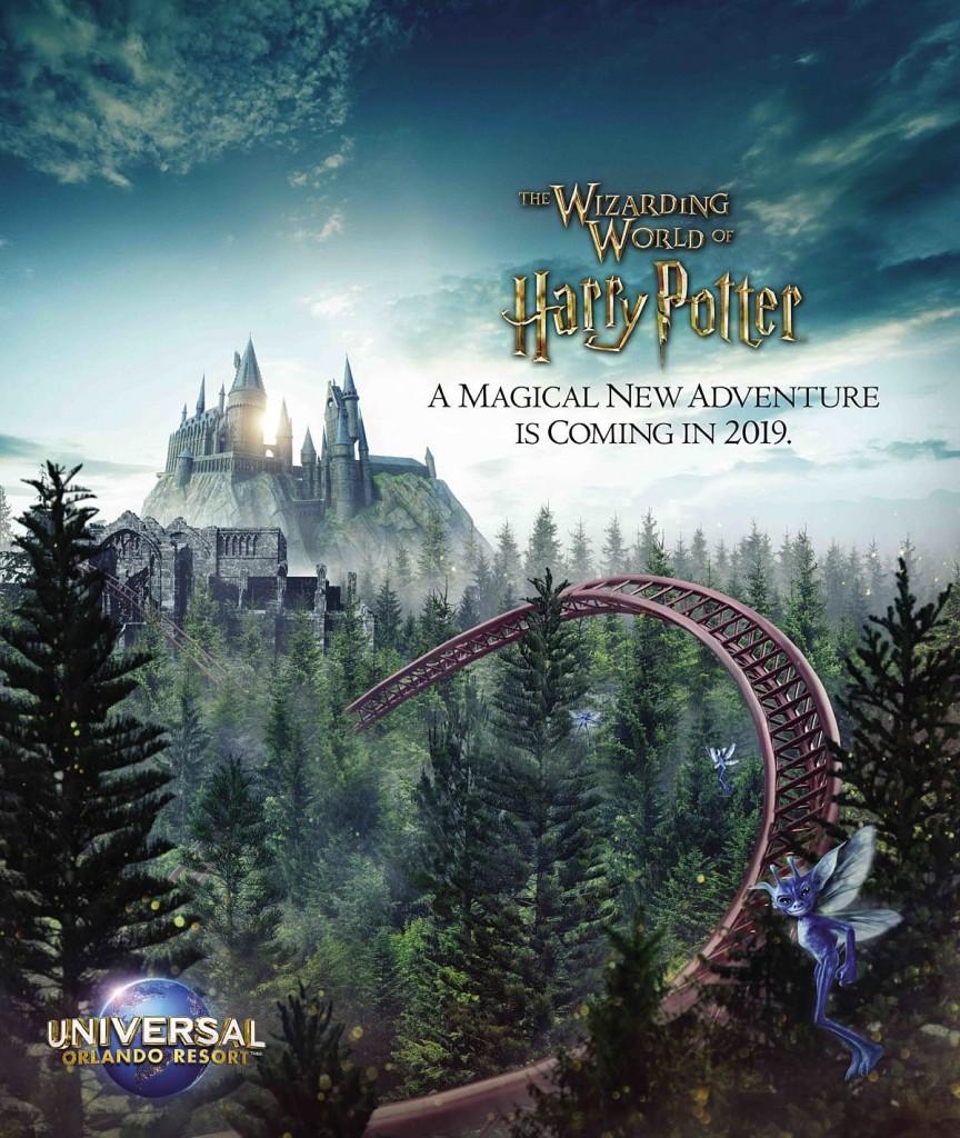 the wizarding world of harry potter universal orlando resort new ride coming 2019